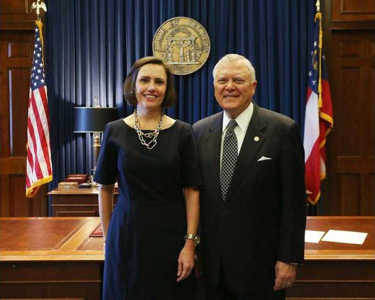 Penny Penn Sworn in by Governor Nathan Deal 1.12.17